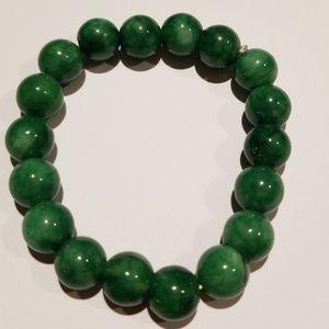 Jewelry - vantage exports jade beans bracelet